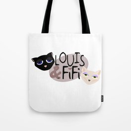 Louis & Fifi - Complete Logo Tote Bag
