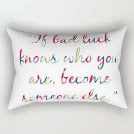 I'll Give You The Sun Quote Rectangular Pillow