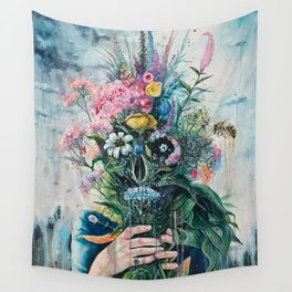 The Last Flowers Wall Tapestry