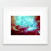 outer space Framed Art Prints featuring Outer Space by Steven Springer