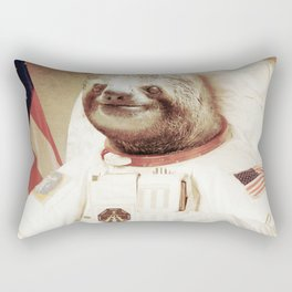 Sloth Astronaut Rectangular Pillow