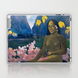 The Seed of the Areoi by Paul Gauguin Laptop & iPad Skin