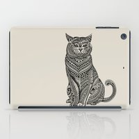 british iPad Cases featuring Polynesian British Shorthair cat by Huebucket