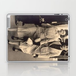 Caught off guard by a street photographer - the war years Laptop & iPad Skin