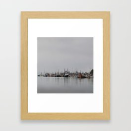 Across The Bay Framed Art Print