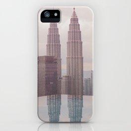Petronas Twin Towers Kuala Lumpur iPhone Case