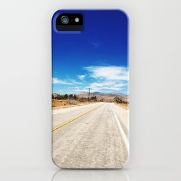 Long Desert Road iPhone Case