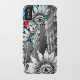 NYC Flower Escapes iPhone Case