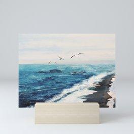 Watercolor Coast Mini Art Print