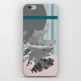 Scotland, the land of the mountains multi-coloured iPhone Skin