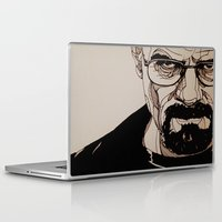 walter white Laptop & iPad Skins featuring Walter White by bubbsyforever