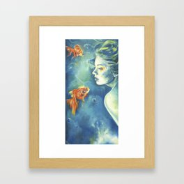 Abissi Framed Art Print