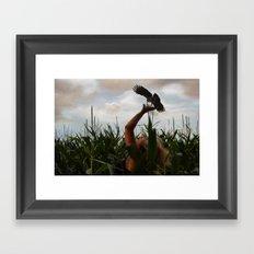 Free as a Bird... Framed Art Print