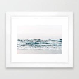 Ocean, waves Framed Art Print