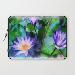 Purple Lotus Laptop Sleeve