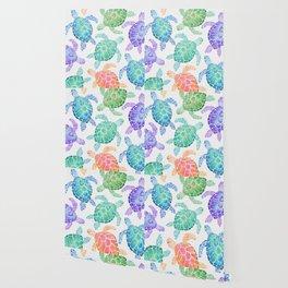 Sea Turtle - Colour Wallpaper
