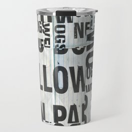 type mess Travel Mug