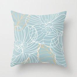 Malibu Floral Throw Pillow
