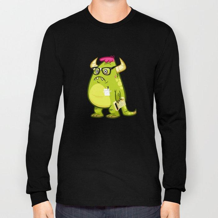 Monster Nerd Long Sleeve T-shirt