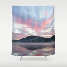 Silent Witness at Sunrise Shower Curtain