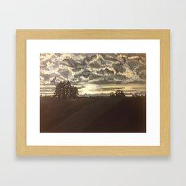 Alberta Bound Framed Art Print