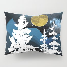Full Moon Rising II Pillow Sham