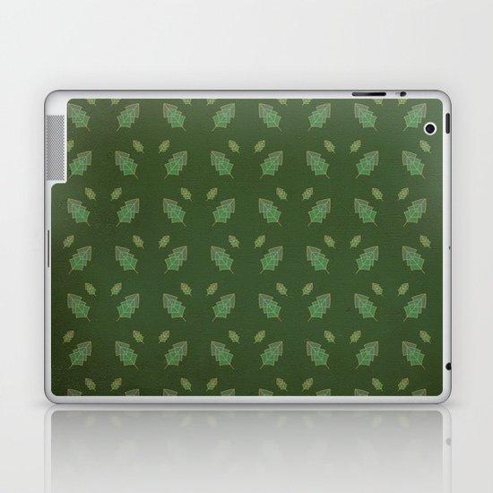 leaf pattern Laptop & iPad Skin