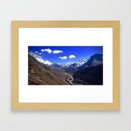 Himalayan Valley Framed Art Print