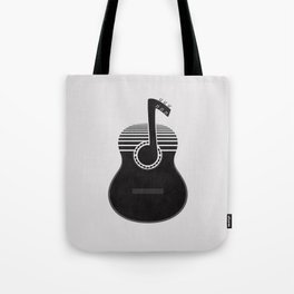 Classical Notes Tote Bag