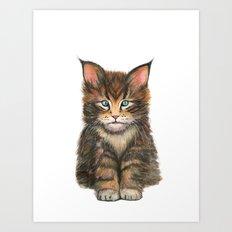 Little Kitten II Art Print