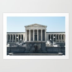 Albright Knox Art Print