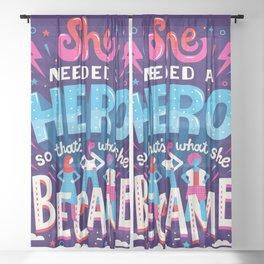 HERo Sheer Curtain