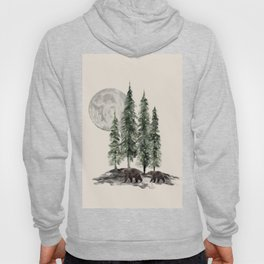 Full Moon Rising Hoody