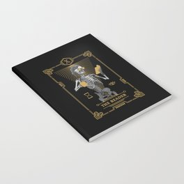 The Reader X Tarot Card Notebook
