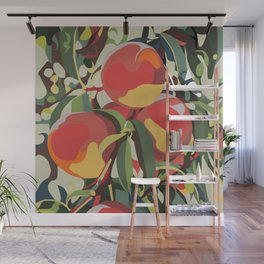 Peach Tree Jungle Wall Mural
