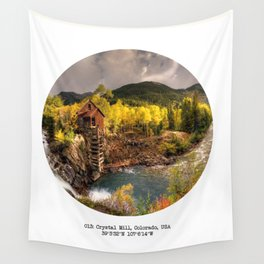 013: Crystal Mill, Colorado Wall Tapestry