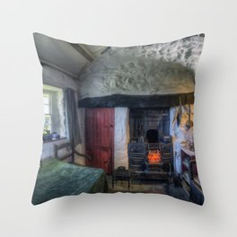 Olde Country Home Throw Pillow