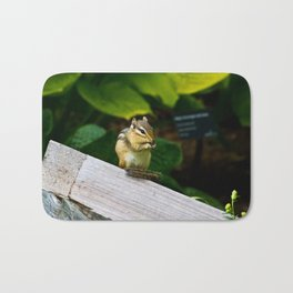 Chipmunk Chow Time Bath Mat