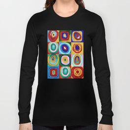 Colorful circles tile Long Sleeve T-shirt
