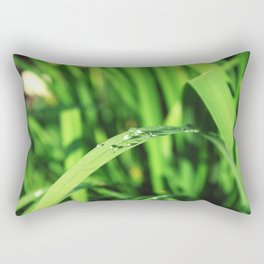 Morning Rain in Deutschland Rectangular Pillow