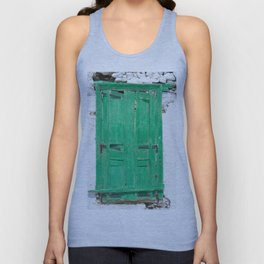 The Old Green Window, Milos Unisex Tank Top