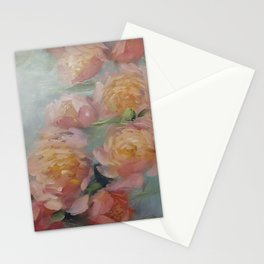 The Bouquet of Peonies Stationery Cards