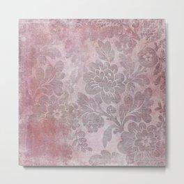 Damask Vintage Pattern 06 Metal Print