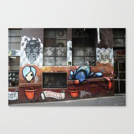 Hosier Lane 2 Canvas Print