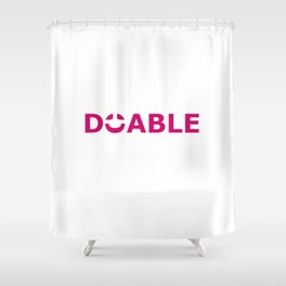 Doable II Shower Curtain