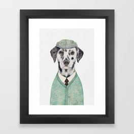 Dalmatian Mint Framed Art Print