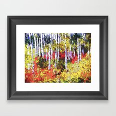 Glorious Colors Framed Art Print