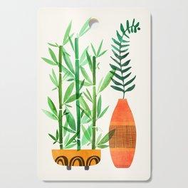 Bamboo + Fern / Botanical Illustration Cutting Board