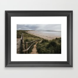A day at the beach - Landscape and Nature Photography Framed Art Print