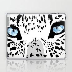 The blues; leopard. Laptop & iPad Skin